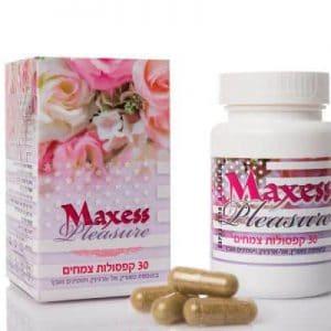 MAXXES PLESURE ויאגרה לנשים