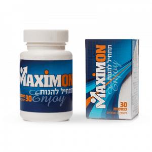 טבליות MaximumOn לטיפול בבעיות זיקפה